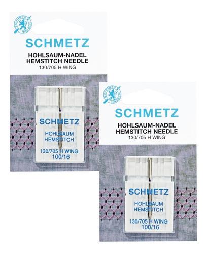 Imagen 1 de 2 de Agujas Schmetz Para Calados En Máquina De Coser Familiar