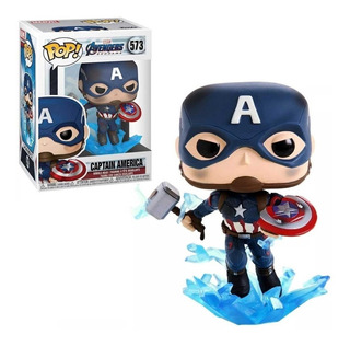 Funko Pop 573 Captain America Marvel
