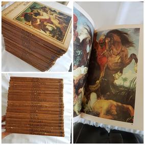 Livros: Mestres Da Pintura, 20 Volumes, Capa Dura