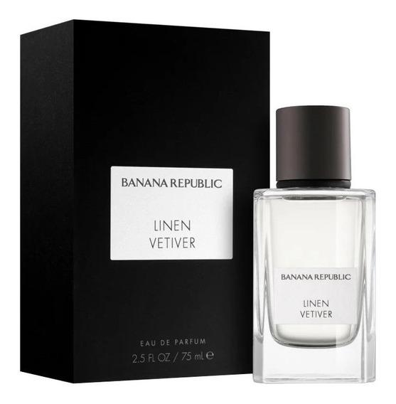 Perfume Banana Republic Linen Vetiver Edp 75ml - Unissex