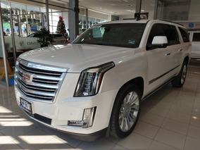 Cadillac Escalade Esv Platinum 2016 Blanca