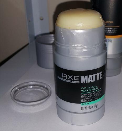 2 Unidades Axe Matte Effect Do It All Wax Stick - Cera Model