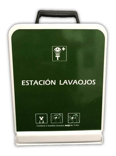 Imagen 1 de 6 de Gabinete Estación Lavaojos 2 Botellas (sin Solución)
