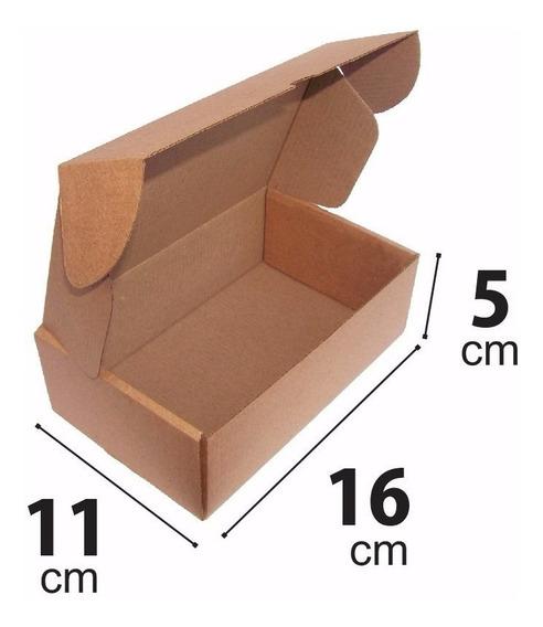Caixa Papelão Correio Sedex Pac 16x11x5 Montável C/ 50 Unid