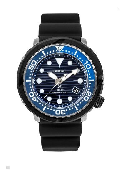 Seiko Prospex Solar Tuna Save The Ocean 200m Sne518p1 -12x