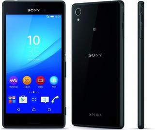 Celular Sony Xperia M4 Aqua Preto 16 Gb- Vitrine