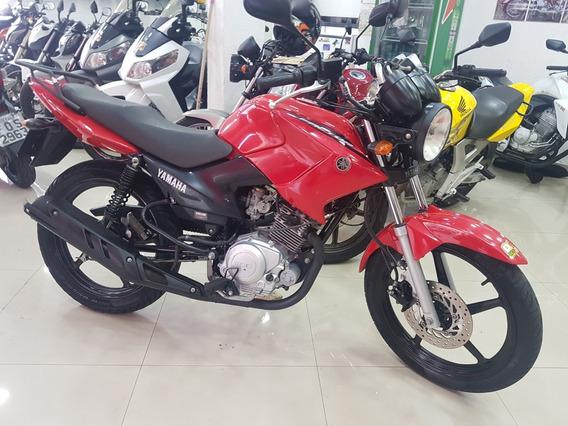 Yamaha Ybr 125 Factor Ed 2014 Vermelha 40000 Km