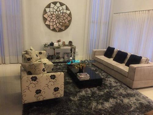 Casa Com 3 Dormitórios À Venda, 389 M² Por R$ 3.499.000,00 - Swiss Park - Campinas/sp - Ca0867