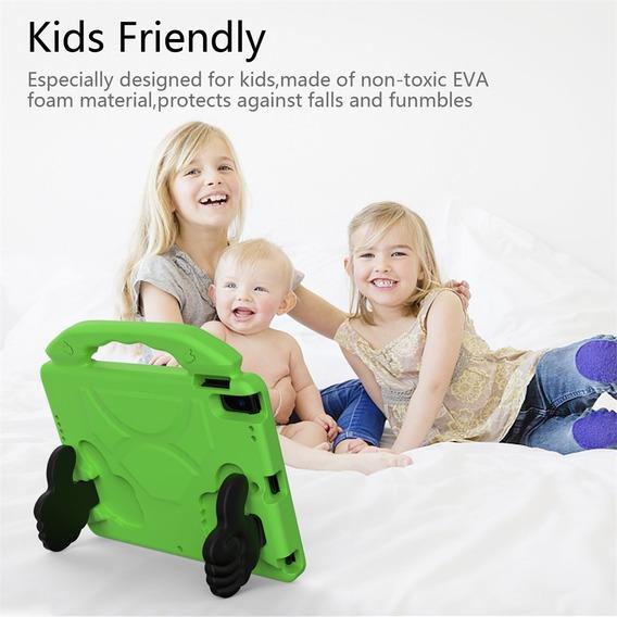 Eva Kids Safe Rubber Handle Tablet Capa Capa Shell F