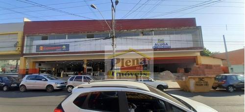 Salão Para Alugar Com 8 Salas Integradas E 800 M² - Centro - Hortolândia/sp - Sl0951