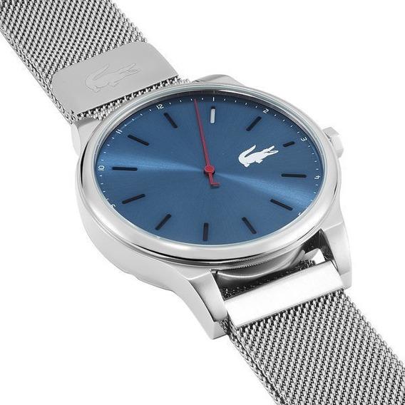 Relógio Lacoste Com Pulseira De Malha De Aço Inoxidável