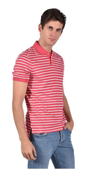 Polo Chaps Hombre 750711406-31jo Rojo