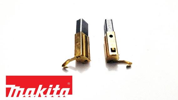 Kit Escovas Carvão Para Lavadora Makita Hw-102 127v Original