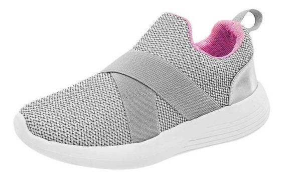Tenis Tropicana Niña 82013 Color Gris Talla 15-17 -shoes