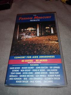 The Freddie Mercury Tribute Queen Concert 1992 2 Vhs Gusx