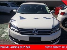 Volkswagen Passat 2015 4p Confortline L5/2.5 Aut