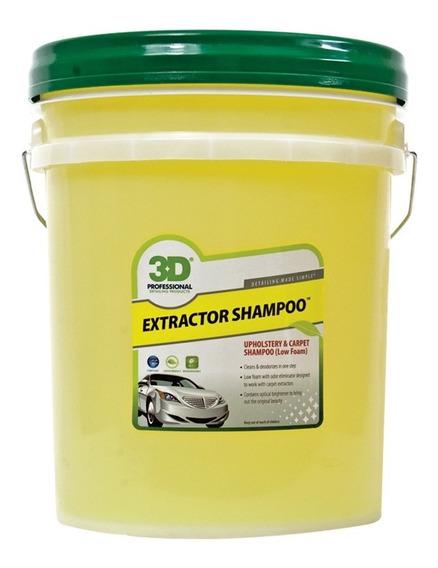 Shampoo Extractor 3d- Baja Espuma Para Máquinas 20 Lts 3d