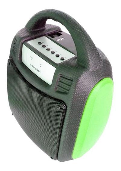 Caixa De Som Bluetooth Portátil Verde Lendex Ldcst30b