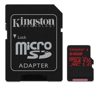 Cartão Microsd De 64gb Canvas React 100/80mb/s - Sdcr/64gb