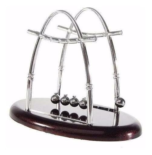 Pendulo De Newton Grande Jogo De Bolas Decoração Escritório