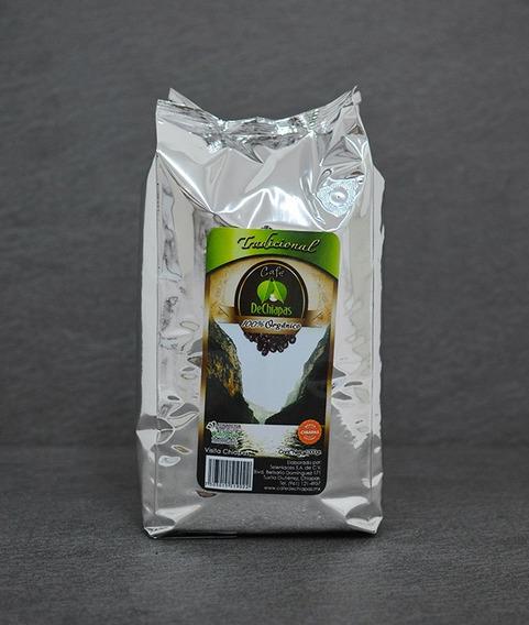 Café Organico De Chiapas Tradicional 1000g Molido O En Grano