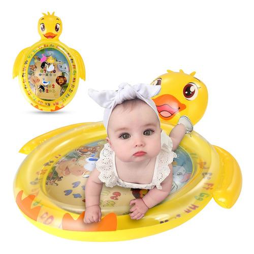 Tummy Time Baby Water Mat Centro De Atividade Infantil Inflá