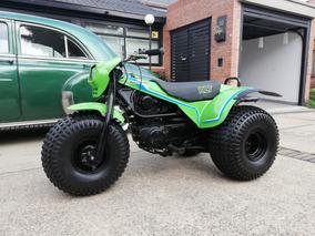 Tricimoto Kawasaki 200cc, Guardada 30 Años
