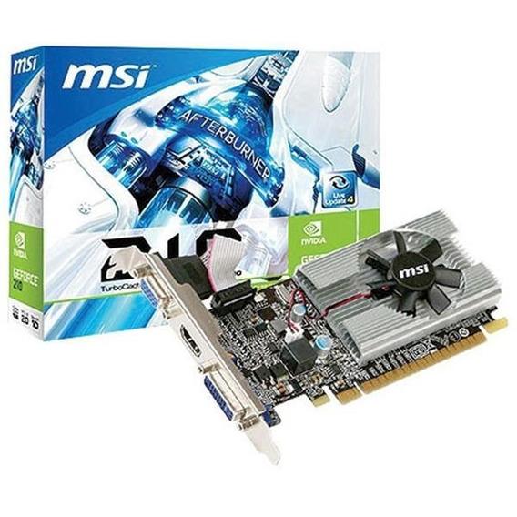 Placa Video Geforce Msi G210 1gb Ddr3 Hdmi Pci-e 2.0