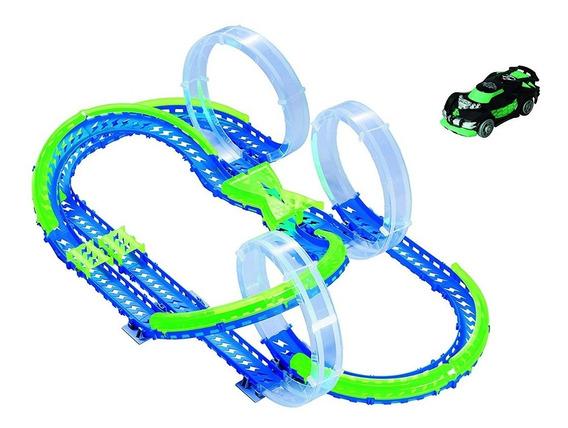 Pista Autos Sensor Onda 3 Skyloop Raceway Wave Racer Toys