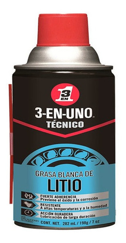 Grasa Blanca De Litio 3en1 Tecnico 7 Onz  Wd-40 520382
