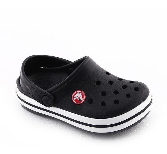 Crocband Kids Black Crocs Niño