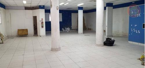 Loja Para Alugar, 172 M² Por R$ 8.500,00/mês - Boqueirão - Praia Grande/sp - Lo0018