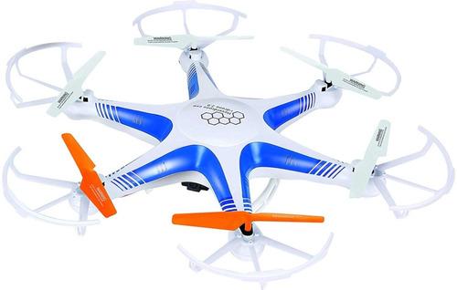 Dron Drone Hexacoptero 6 Motores Wifi Transmision Fvp Hd