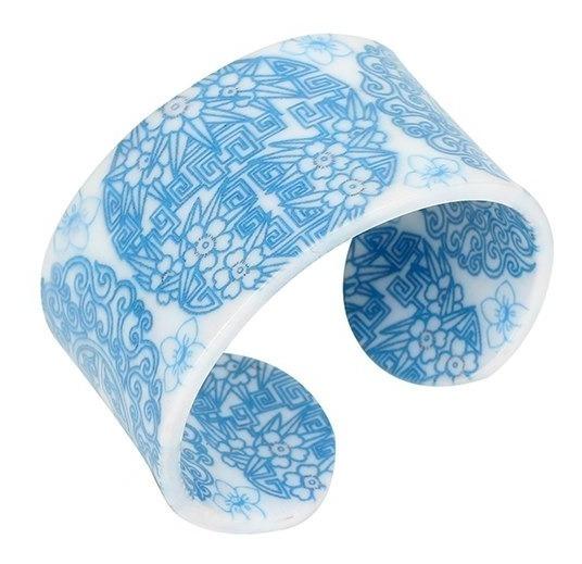 Pulser Acrilica Diseño En Azul.