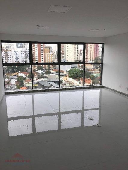 Sala Comercial Para Locação, Vila Guiomar, Santo André. - Sa0017