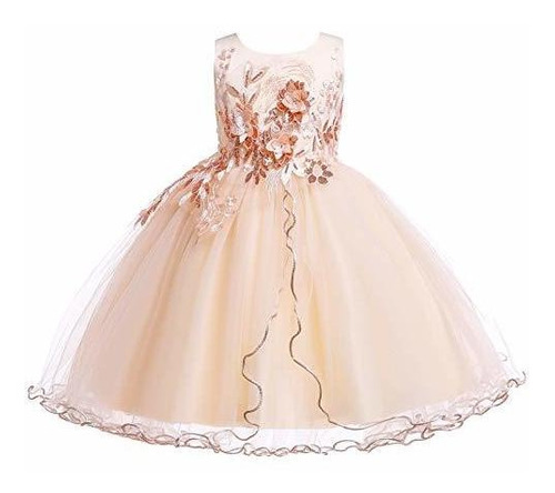 Weileenice 2-12 Años Niños Niñas Princesa Vestido De Navidad