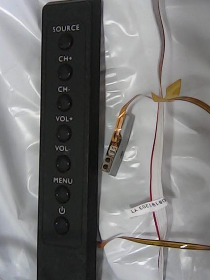 Placa Sensor Controle Remoto + Comandos Philips 42pfd4709/77