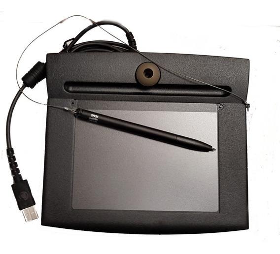Coletor De Assinatura Digital Topaz Usb Modelo: T-s751-hsb-r