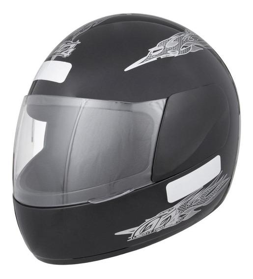 Capacete para moto integral Pro Tork Liberty Four preto tamanho 60