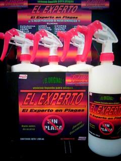 Veneno/insecticida/plaguicida/alacranes/plagas/elexperto