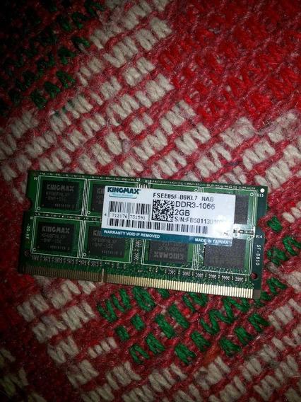 Memoria Ram Sodimm Notebook Netbook Ddr3 2gb Fsee85f-b8kl7