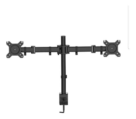 Suporte Articulado Duplo D/mesa 2 Monitores 15-27 Led Lcd