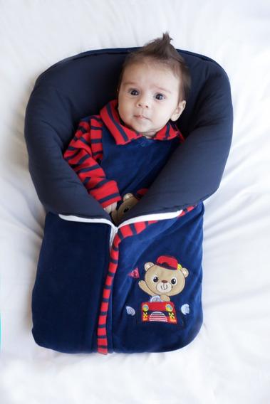 Saída Maternidade Menino Saco De Dormir