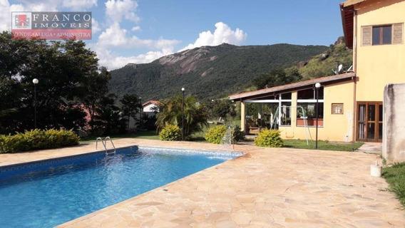Chácara Com 3 Dormitórios À Venda, 2460 M² Por R$ 750.000 - Nova Gardênia - Atibaia/sp - Ch0050