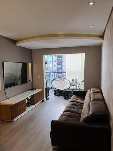 Apartamento Com 3 Dormitórios À Venda, 87 M² Por R$ 617.000,00 - Jardim Tupanci - Barueri/sp - Ap4331