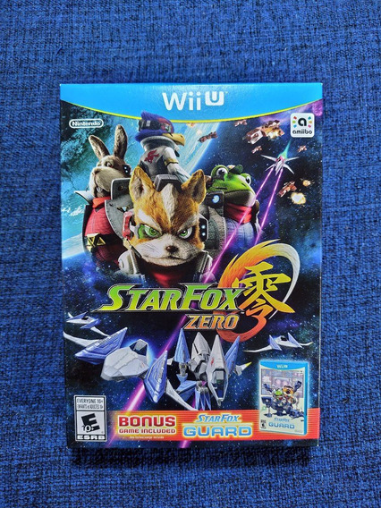 Star Fox Zero + Star Fox Guard Pack Nintendo Wii U Novo