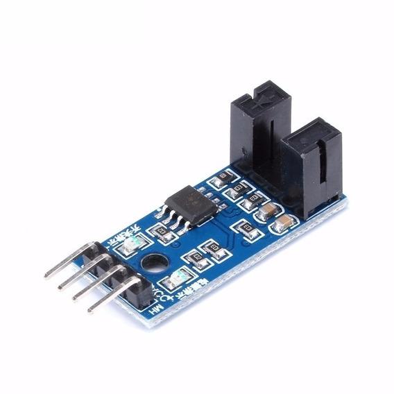Módulo Sensor De Velocidade Infrared 4 Pinos Arduino
