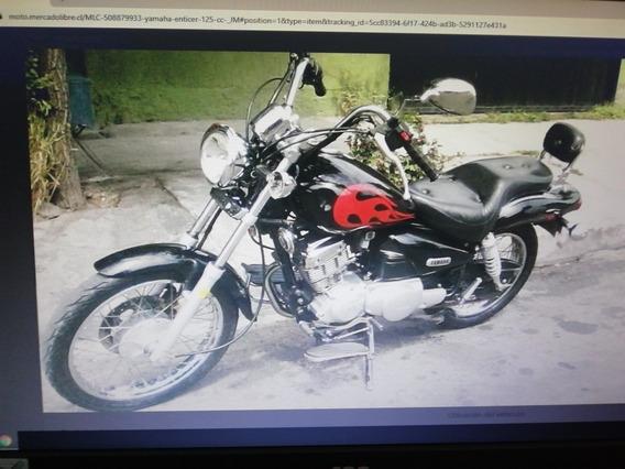 Yamaha Enticer 125
