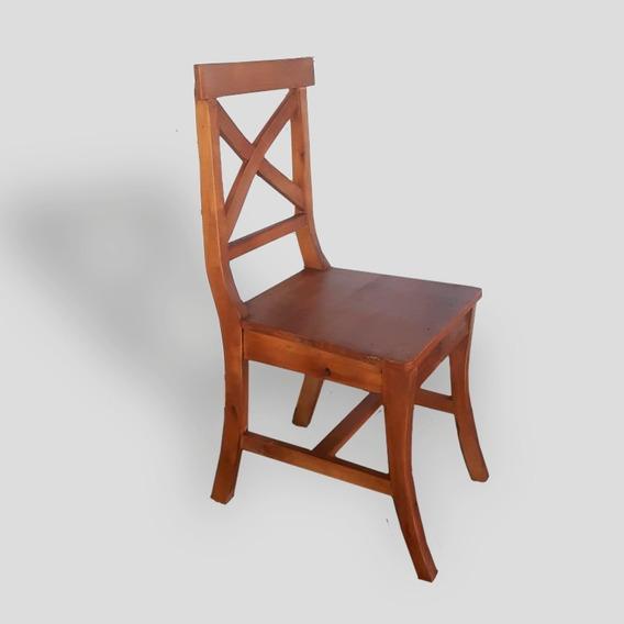 Cadeira Design X Madeira Demolição
