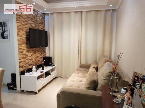 Apartamento Com 2 Dormitórios À Venda, 53 M² Por R$ 380.000,00 - Freguesia Do Ó - São Paulo/sp - Ap3900